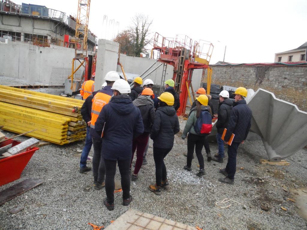 Espace bts b timent lyc e polyvalent pierre mend s france for Visite de chantier